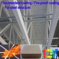 Revestimentos intumescentes- fogo- refratários de pintura de aço/metal fogo- pintura retardante