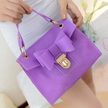 BV8107 2014 Korean version summer candy colored translucent frosted silicone jelly bag handbag for women