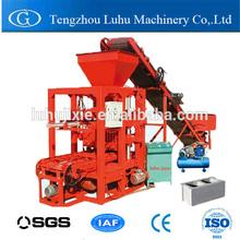 QTJ4-26C powerful pressure coal dust brick making machine with factory price