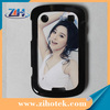 Blank sublimation cases for Blackberry 9900 with sublimation aluminum inserts