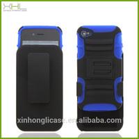 Robot belt clip cell phone case for iphone 4s wholesale case