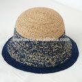Nuevos productos 2014 de vaquero de paja sombrero para el sol, playa de sombrero de paja, sombrero de panamá genuina las superficies de calidad
