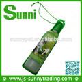 novo design portátil dobrável azul pet dog automática garrafa de água garrafa pet fabricante