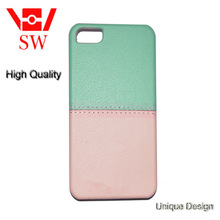 elegant combination of light green and light pink phone case Phone shell