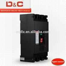 [D&C]shanghai delixi SE-250 mccb 3 pole moulded case circuit breakers