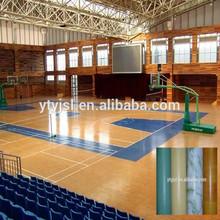 anti-slip indoor pvc basketball flooring