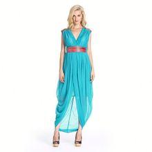 Competitive Price Soft Long Dresses High Slit