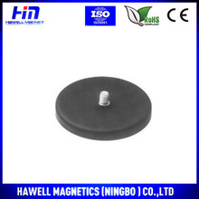 Rubber Coated Magnet with Thread Rod made in China