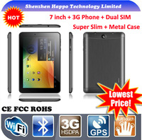 2014 newest 7 inch MT6572 Dual Core RAM 512M ROM 4G 1024x600 7 inch tablet pc with usb port