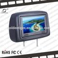 7 pulgadas lcd de publicidad en televisión en interiores con 3g/wifi/inalámbrica gprs taxi/autobús/coche/camiones parte superior de la pantalla led signos