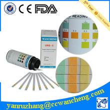 High quality urine test strips fast diagnostic kits URS-3