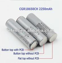 High quality CGR18650 2250mah battery cgr 18650 ce li-ion battery