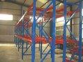 Hecho en china de tubos de acero bastidor de almacenamiento de tienda de ropa góndolas/mostradores/expositores