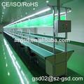 led de luces de tubo de montaje del transportador de la línea