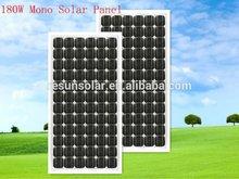 High efficiency pv module 130w 18v mono solar panel