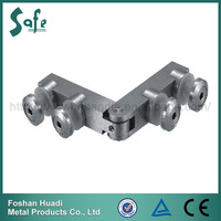 Corrosion resistance SUS 304 stainless steel Glass to glass hinges for shower room