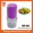 Home kitchen appliance mini chopper/plastic food processor/food chopper best kitchen products for salad