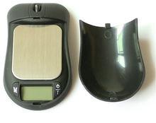 Balance électronique balance de poche mini souris forme échelle de poids électronique numérique à l'échelle