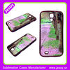 JESOY 2D Sublimation Case For Samsung Galaxy S4,Heat Transfer Phone Case,Blank cell phone case