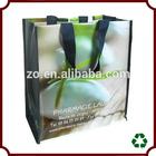 reusable custom cheap personalized green bag shopping fashion