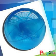 2014 Hot Sale Deep Blue Hollow Plastic Toys Super High Bouncing Ball