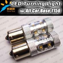 Hot sale, car led lamp 1156 BA15S 50W C REE led light led turn signal back up reverse light 360degree beam angle high brightness