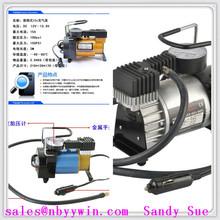 Mini Air Tyre Inflation Compressor Emergency Travel Pump 12v car air pump For Cars Vans Bikes