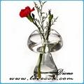 hot vendre 2014 verre clair bouteille en verre boule de noël décoration