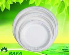 Various sizes disposable paper plates/ paper tableware/biodegradable plates
