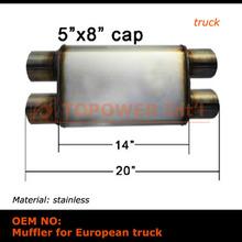 factory wholesale Super weld Exhaust Motorcycle Muffler In Exhaust System