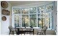 Baie vitrée en aluminium/arc, fabricant de fenêtres en aluminium