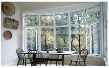 Aluminium baie vitrée / arc en aluminium fenêtre fabricant
