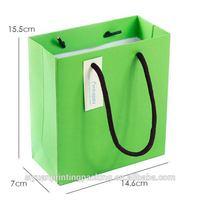 Good quality hotsell die cut hole brown kraft paper bag