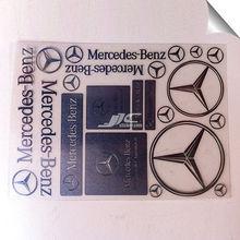 water resistant 8108 electroform nickel sticker