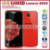 cheap smartphone lenovo S820 MTK6589 3g mobile phone 4.7'' HD IPS screen