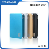 New Product 2014 power bank with Good Quality colorful Bulk Buy From China 6000mah manual for power bank