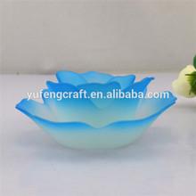 beautiful lotus tea light glass holders wedding centerpieces
