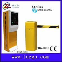 parking lot management barrier gate with ticket car park system