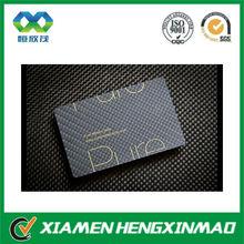 Hot selling China carbon fibre business card/visiting card/calling card