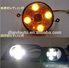 DLAND 1998-2002 BAYERISCHE MOTOREN WERKE LINE 3, E46 SPECIAL LED DAYTIME RUNNING LIGHT FOG LAMP DRL, 318i 320i 325i