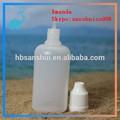 30ml ae trasparente bottiglia di plastica contagocce con tappo a prova di bambino, colla eccellente della bottiglia, nomi di collirio