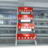 Pyramid chicken cage/welded type chicken cage/poultry farming chicken cage system