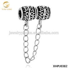 Chain Link Charm For Bracelet Metalwork Charm European Bead Bracelet