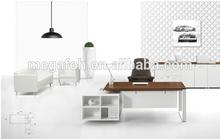 2014 popular office furniture design cheap modern office desk/table(FOH-UCB231)