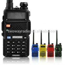 handheld vhf/uhf durable 5watt ham radio program cable uv5rb
