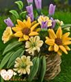 حديقة الزهور كلاي المقتنيات مصغرة اليدوية التايلاندية كلاي