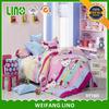 uk importer of bed sheet/cartoon bed sheet/cat print bedding set