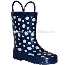 2014 cute and cartoon print fashion children rubber boots