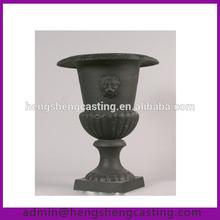 cast iron antique decorative garden urns