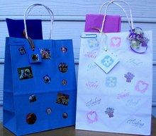 cartoon gift bag christmas gift package bag big descount China manufacturer new design christmas gift bag colorful with handles